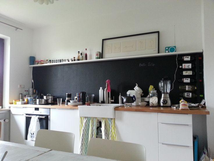 Bildergebnis für Wanddeko Küche ohne Hängeschränke Neue Küche - küchenzeile ohne hängeschränke