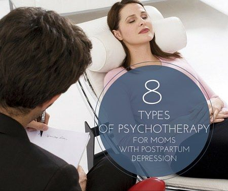 8 Types of Psychotherapy for Moms with Postpartum Depression -postpartumprogress.com