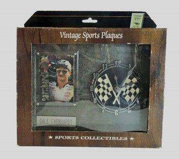 Authentic Vintage Sports Plaques Collectible Nascar Driver ...