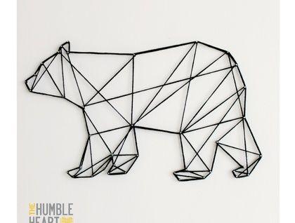 Y un oso ??? Este me parece muy cool! Además para la primeras tribus americanas significa fuerza y al mismo tiempo tranquilidad