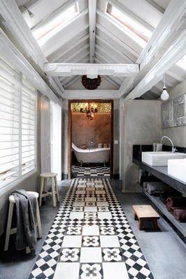 Gasp! This bathroom is fabulous!!!!