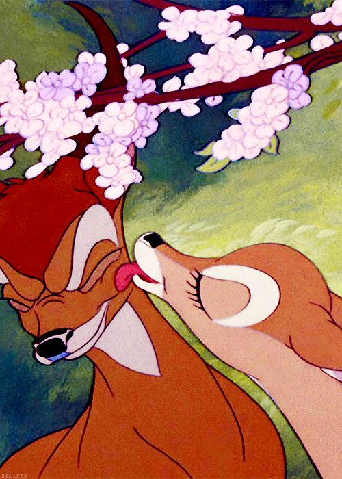 Bambi is probably one of the greatest love stories.