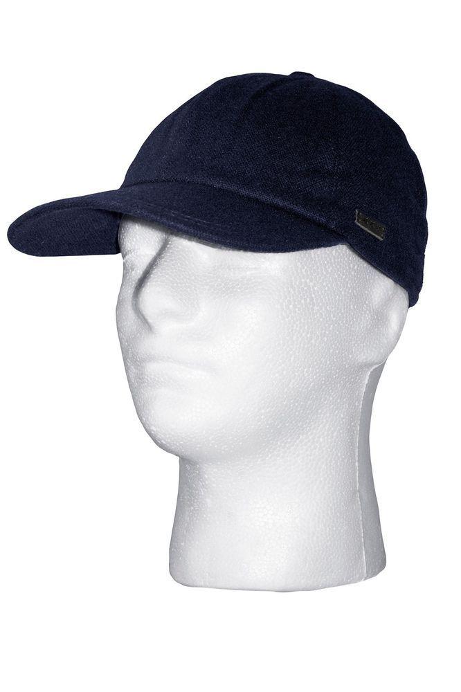 eBay  Sponsored JOHN VARVATOS Merino Wool Baseball Cap Hat in Dark Blue  Sz.S M NEW 0dd67896c51