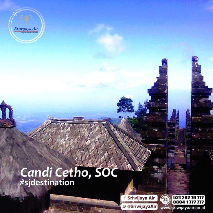 Candi Cetho, Solo, Jawa Tengah. Persembahan warisan leluhur Nusantara yang masih terjaga hingga kini.