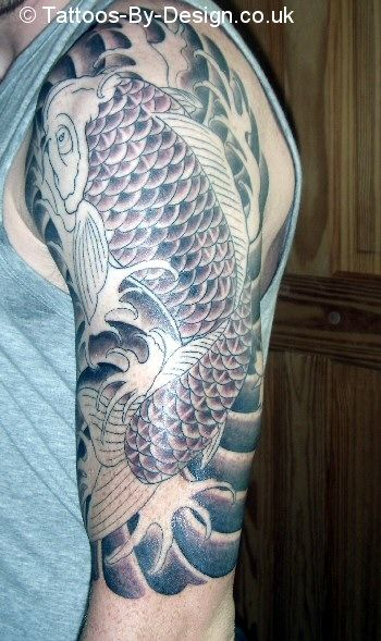 11 best images about carp tattoos on pinterest koi fish tattoo full body and quarter sleeve. Black Bedroom Furniture Sets. Home Design Ideas