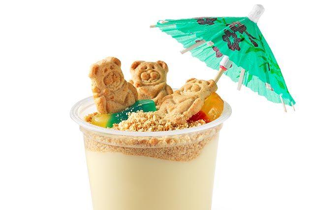 Teddy graham beach party snack! #preferredchildcare