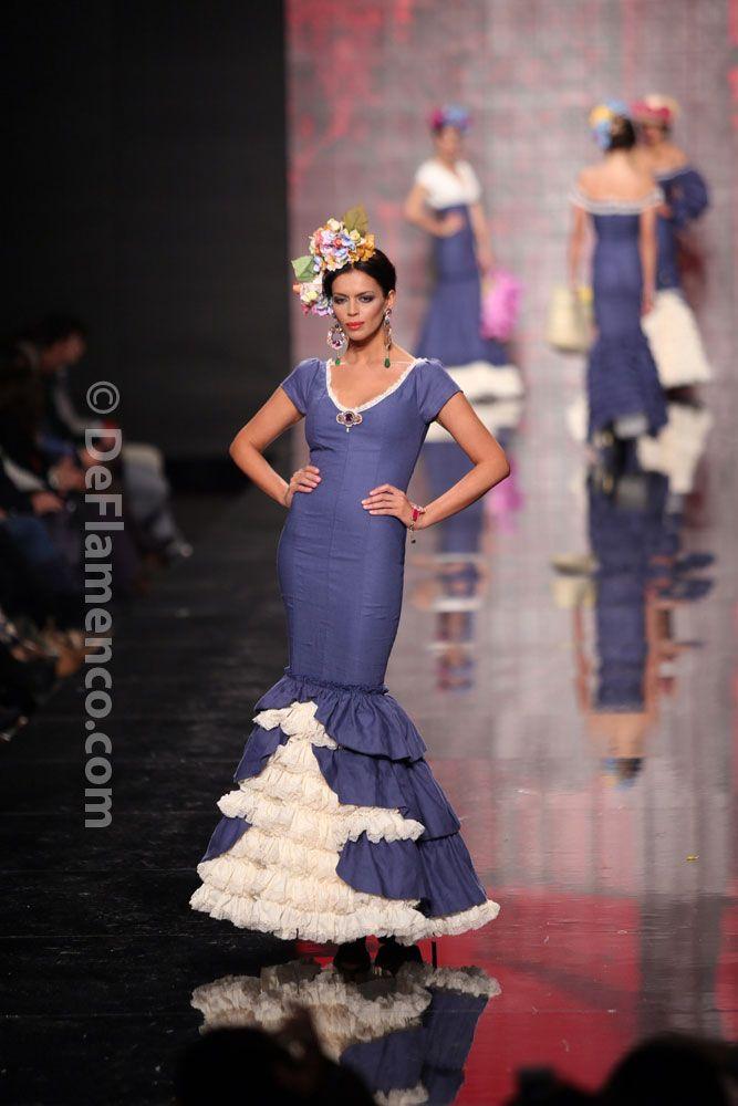 Fotografías Moda Flamenca - Simof 2014 - Patricia Bazarot 'Sentio' Simof 2014 - Foto 03