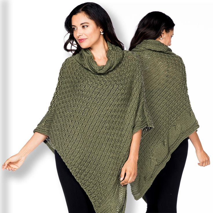 Extra-fleecy microfiber gives ultimate softness and warmth to this collared poncho that's great for wearing around the house or even on errands out.  Fit: Regular