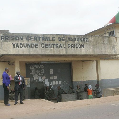 CAMEROUN :: Kondengui : La Prison sans eau :: CAMEROON