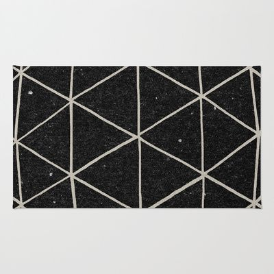 Geodesic Rug by Terry Fan - $28.00