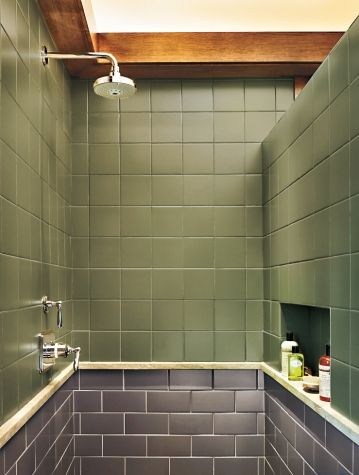 A Bath Goes From Washed Out To Craftsman Style