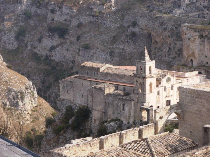 Matera san pietro caveoso - Sassi di Matera - Wikipedia