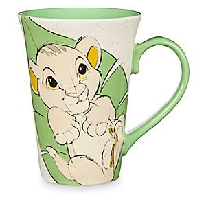 Simba and Rafiki Mug - The Lion King | Disney Store The wisdom of Rafiki and the wonder and curiosity of baby Simba make for a charming pair on this finely crafted ceramic mug. You can almost hear the sounds of the Pride Lands as you sip and smile.