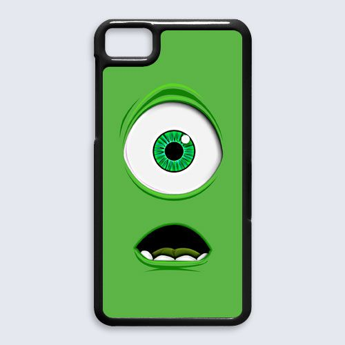 monster inc cyclops mike wazowski Blackberry Z10 case $16.89 #etsy #Accessories #Case #cover #CellPhone #BlackBerryZ10 #BlackBerryZ10case #mikewazowski #monsterinc #cyclops #disney