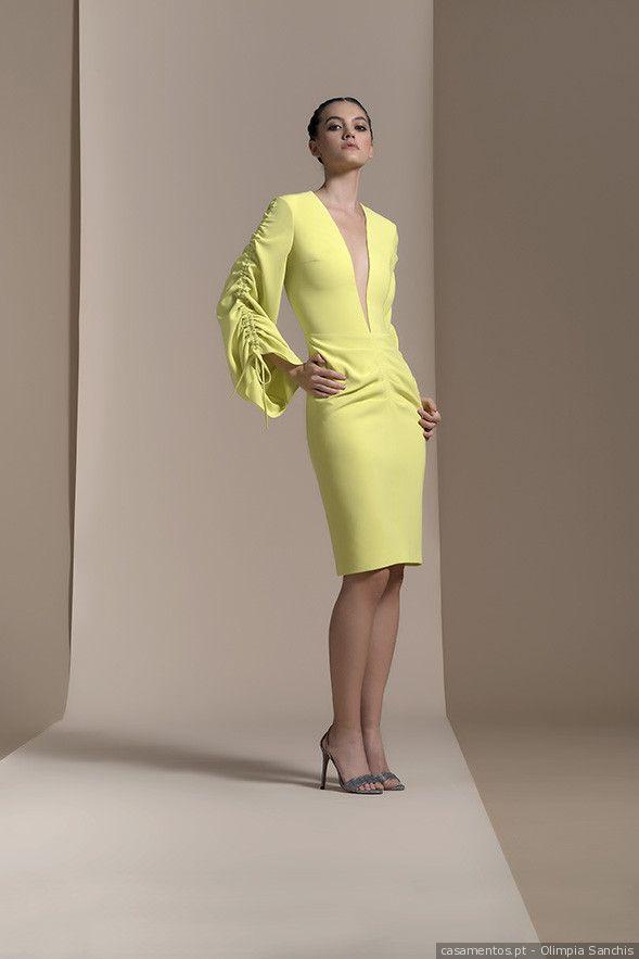 Vestidos de festa amarelos: modelos inspirados no visual de Amal Clooney   – Look de convidada