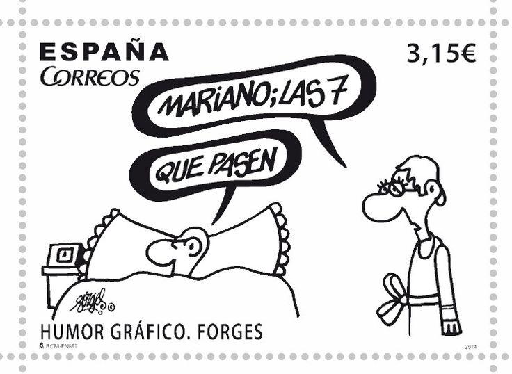 El sello de Forges que hará que te den ganas de volver a escribir cartas