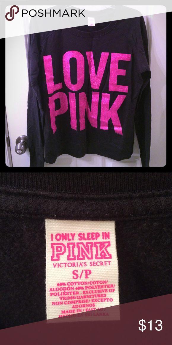 Victoria secret Pink long sleeve top Pink long sleeve sleep top. Never worn. PINK Victoria's Secret Intimates & Sleepwear Pajamas