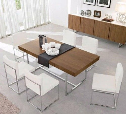 Modern Expandable Dining Table 73 best dining tables images on pinterest | dining tables, bar