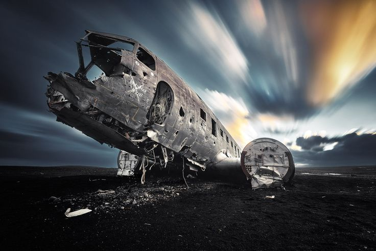 The Plane Iceland by Etienne Ruff