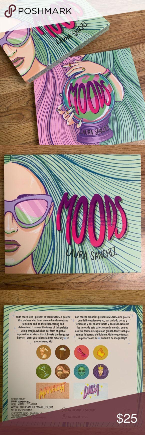 Host Pick🔥Laura Sanchez moods eyeshadow palette