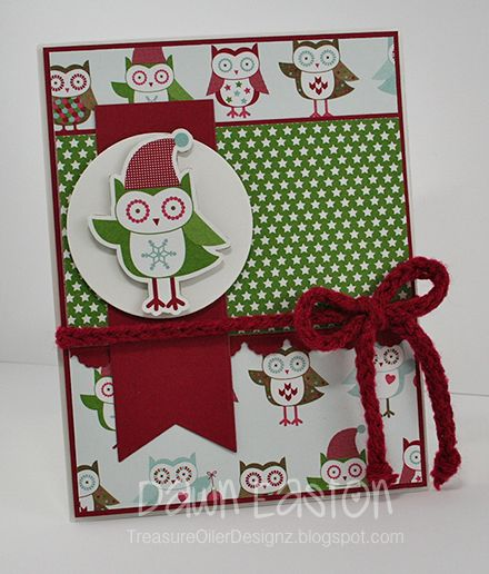 Holiday Owl by TreasureOiler - Cards and Paper Crafts at Splitcoaststampers