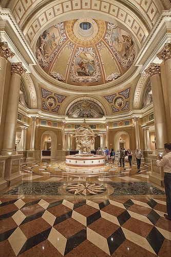 The Venetian, Las Vegas by Som Jandu, via Flickr
