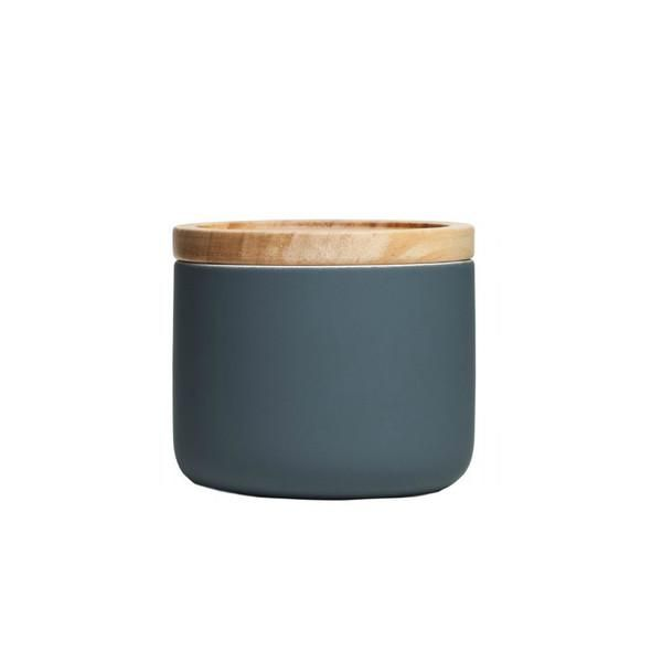 Kitchen Canister - Small, Matte Grey