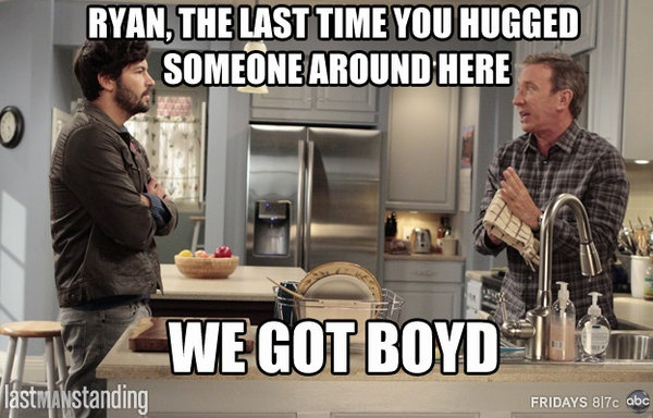 Last Man Standing. Love this show!
