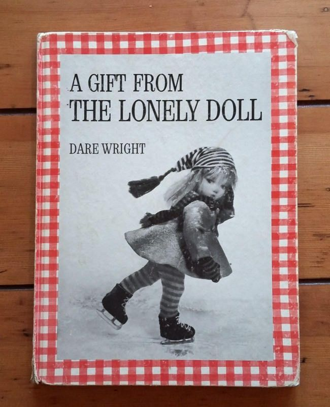 Gift from the Lonely Doll SIGNED by Dare Wright 1966 Vintage Children's Book Edith and Little Bear Christmas Story by CrookedHouseBooks on Etsy