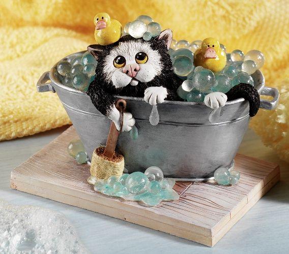 Figurines de chats par Linda Jane Smith