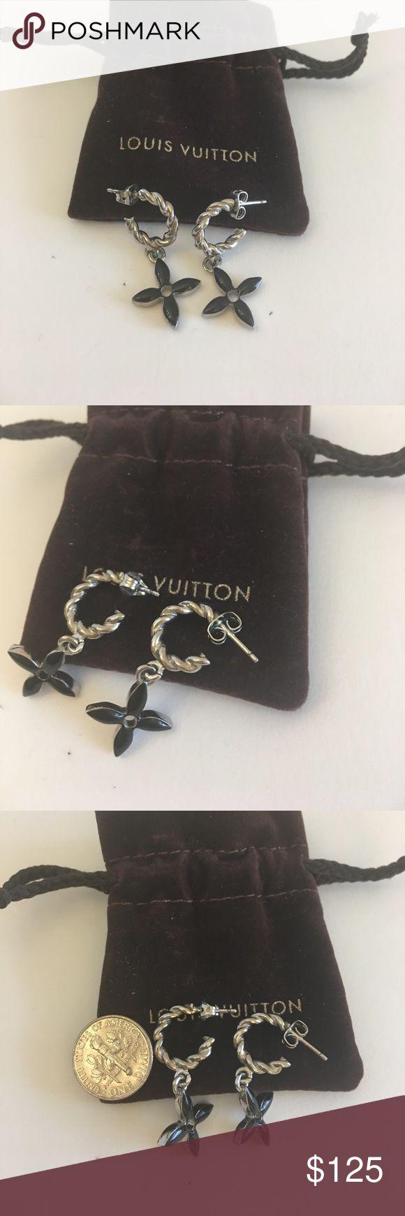 Authentic Louis Vuitton Earrings Authentic Louis Vuitton Earrings Louis Vuitton Jewelry Earrings