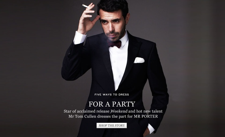 Tom Cullen From Weekend For Mr Porter Statement Making
