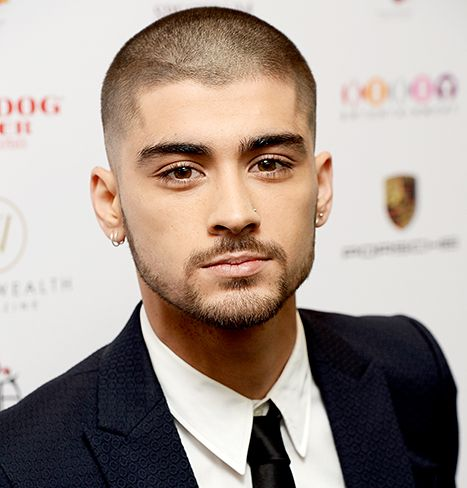 Zayn Malik attends The Asian Awards 2015 at The Grosvenor House Hotel on April 17.