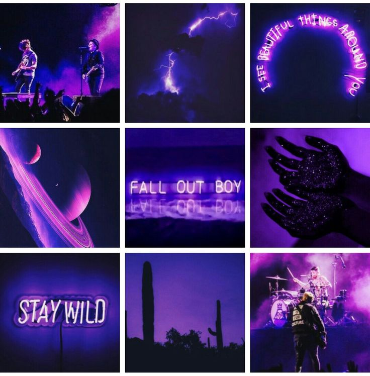 Fall Out Boy Wallpaper Mania Fob Purple Album Aesthetic 4 27 17 Fob Story Pinterest