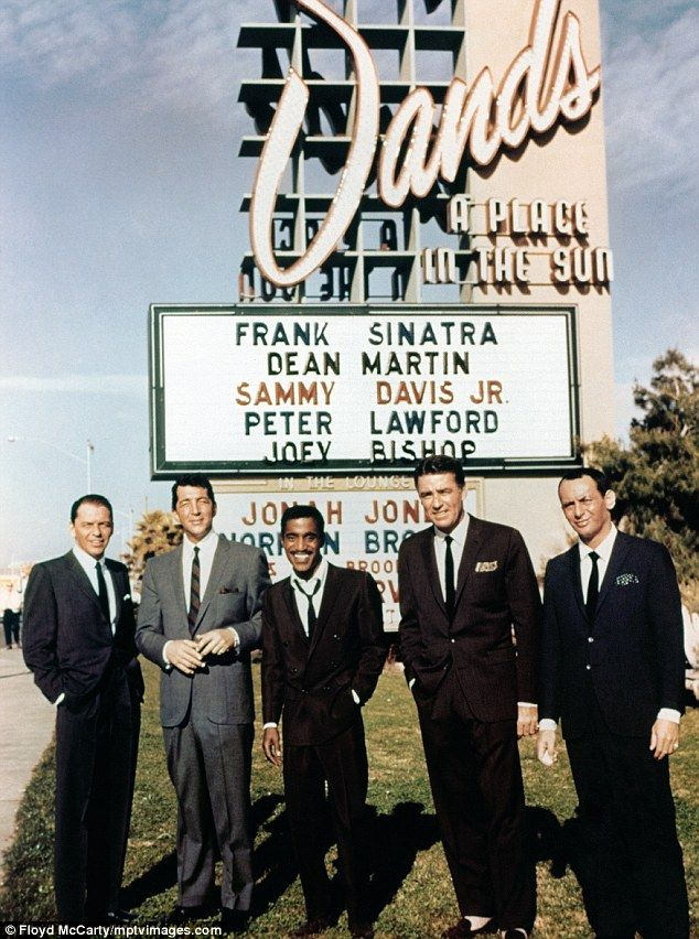 Once I get my Flux Capacitor fixed in my DeLorean this is the first place I'm going! See the Rat Pack in Vegas!!!