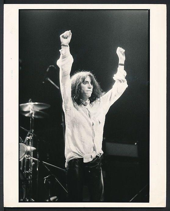 1970's Original Photo PATTI SMITH Proto Punk, Punk Rock Poet Laureate !