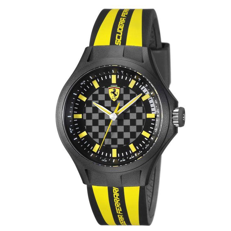 mens scuderia ferrari amazon watches watch uk men co yellow dp s