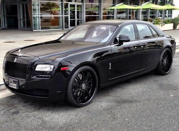 Ben Baller Murdered-Out Rolls Royce
