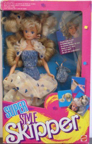 Barbie super style Skipper