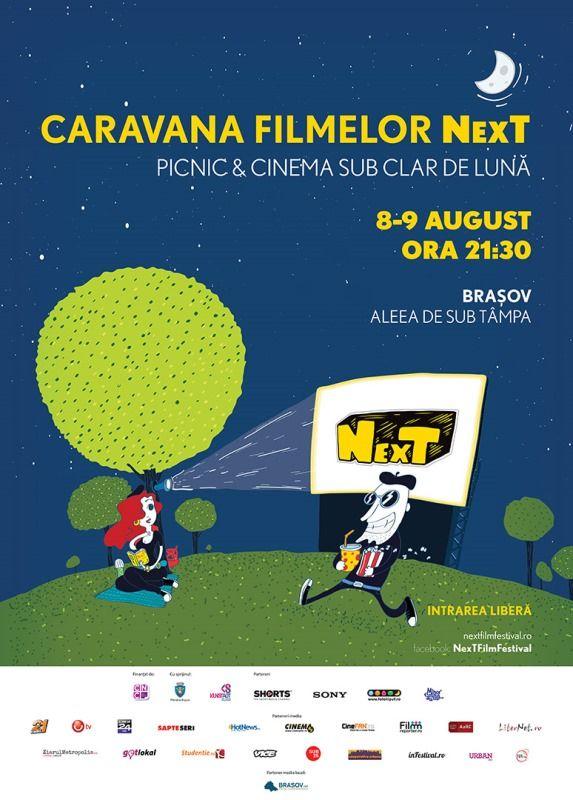Caravana Filmelor NexT soseṣte ȋn Braṣov