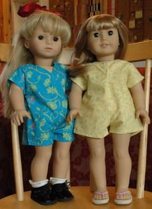 Free Doll Clothes Patterns, American girl and other dolls  #americangirl #sewing #patterns