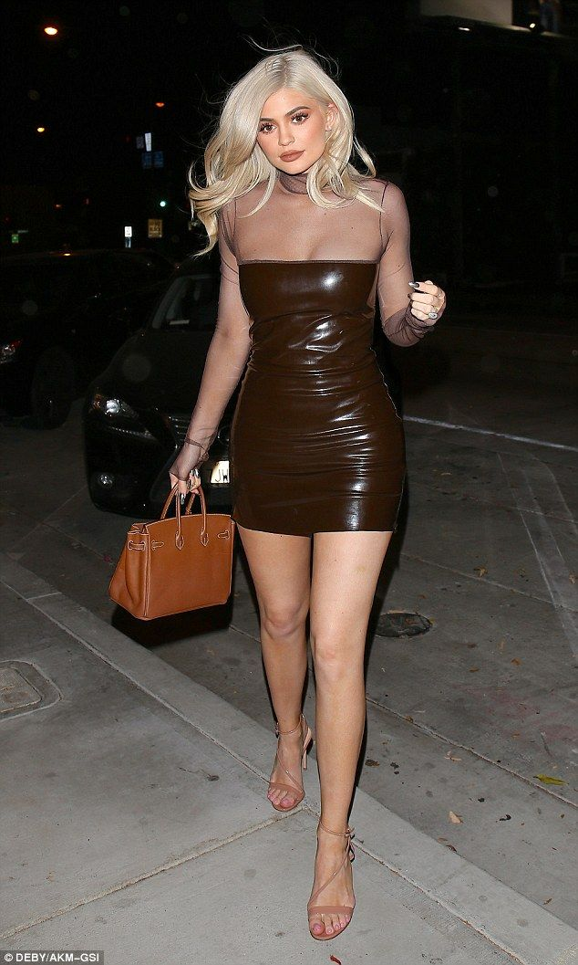 Knock their socks off like Kylie in a dress by Bryan Hearns #DailyMail Click 'Visit' to buy now