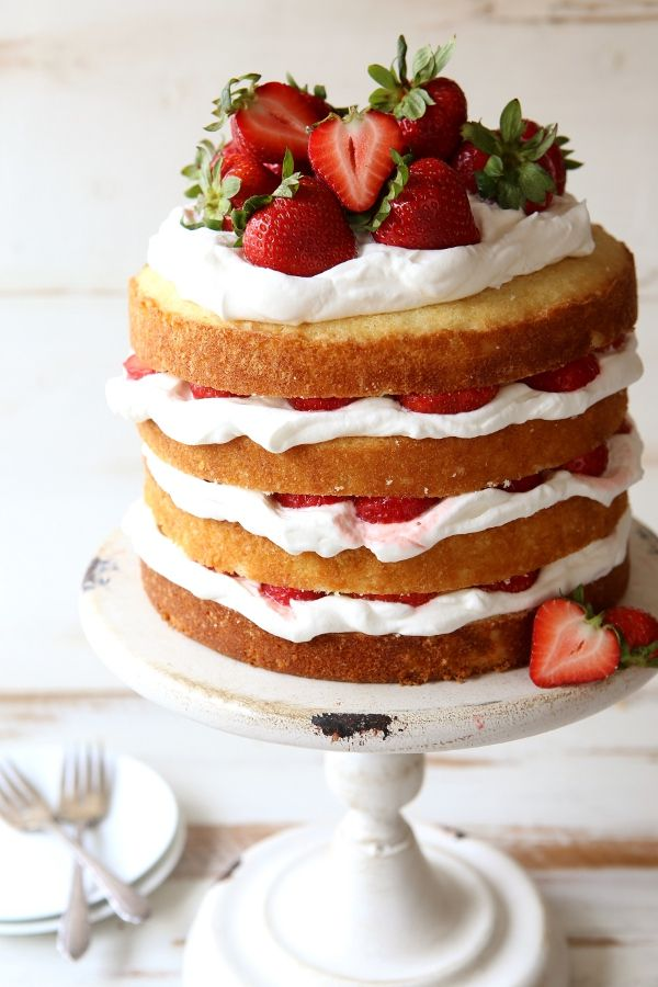 how to make strawberry decoration layer