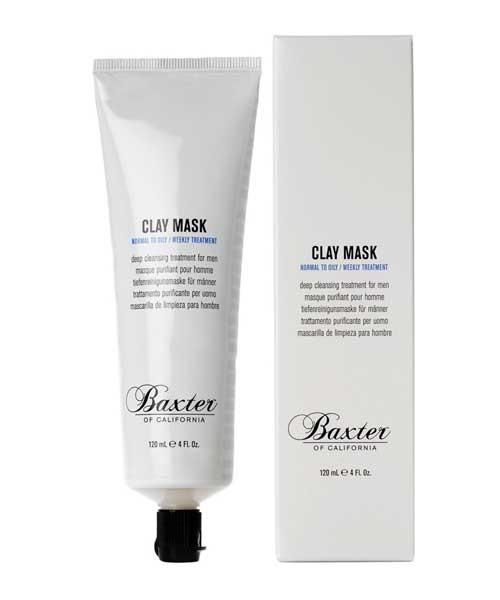 Baxter Clay Mask - The Emporium Barber, Mens Facial Products