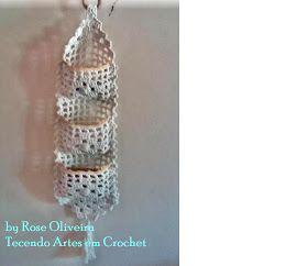 Tecendo Artes em Crochet: Porta-Sabonetes em barbante