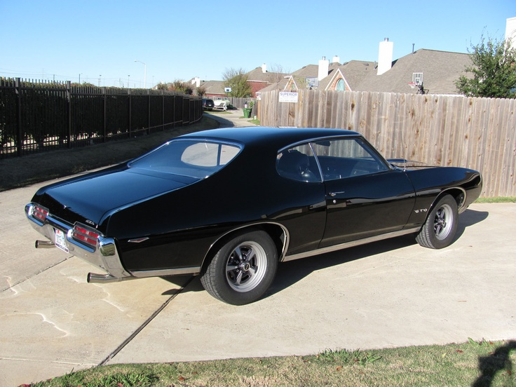 """Ok, my first """"pin"""".   This is my 1969 Pontiac GTO which I've owned for move than 30 years.  I recently completed a complete frame-off restoration, having done 100% of the work myself: all mechanicals, interior, body, and paint."""