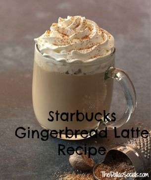 Starbucks Gingerbread Latte Recipe