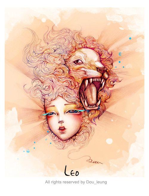 Leo, The Lion -12 constellation-(Arist- dou leung)