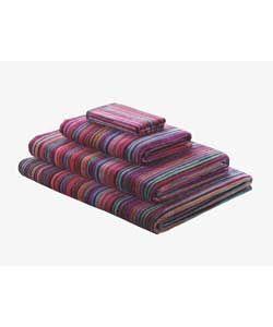 Habitat Shadi Hand Towel - Multicoloured.