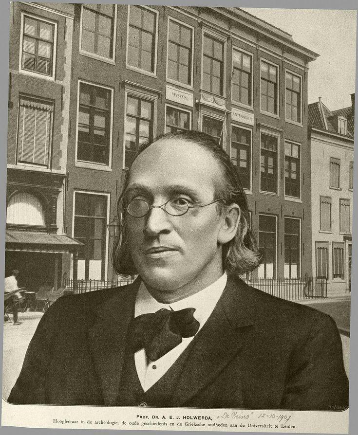 A.E.J. Holwerda (Gorinchem, 21 juli 1845 - Leiden, 29 augustus 1922) was een Nederlandse hoogleraar in de archeologie en de Griekse Oudheden aan de Rijksuniversiteit Leiden. Hij was de vader van Jan Hendrik Holwerda.